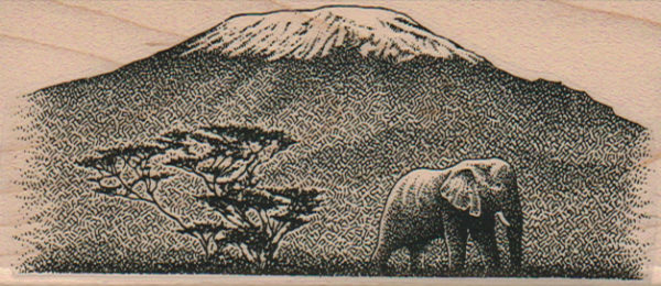 Elephant And Mountain 2 x 4 1/4-0