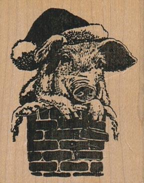 Santa Pig 2 x 2 1/2-0