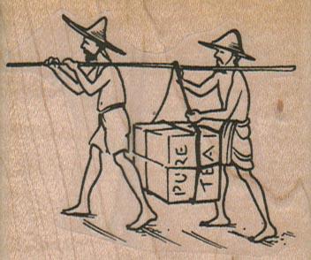 Tea Carriers 2 1/2 x 2-0