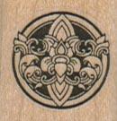 Ornamental Round Symbol 1 x 1-0