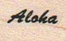Aloha 3/4 x 3/4-0