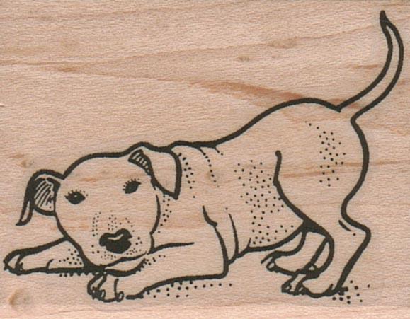 Crouching Dog 1 3/4 x 2-0