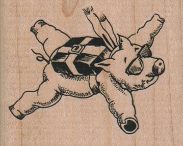 Skydiving Pig 2 1/2 x 2-0