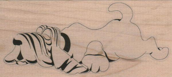 Wrinkled Bassett Hound 2 1/4 x 4 1/2-0