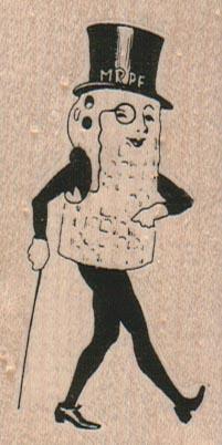 Mr. Peanut 1 1/2 x 2 3/4-0
