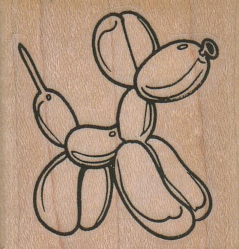 Balloon Dog 1 3/4 x 1 3/4-0