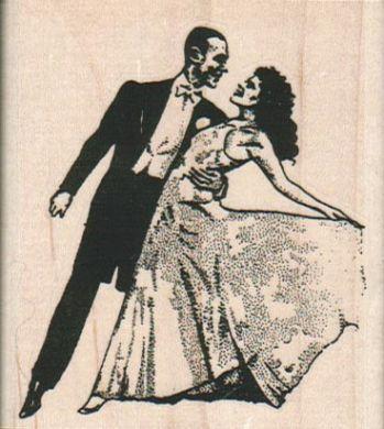 Dancing Couple 2 1/2 x 2 3/4-0