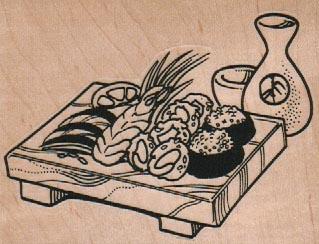 Sushi Board 3 1/2 x 2 1/2-0