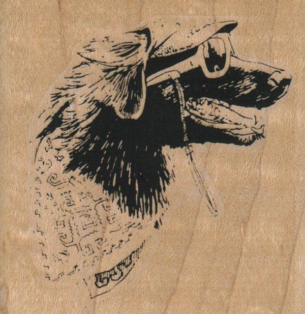 Bandana Dog 2 1/2 x 2 1/2-0