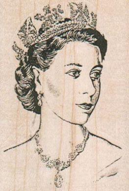 Queen In Crown 2 x 2 3/4-0