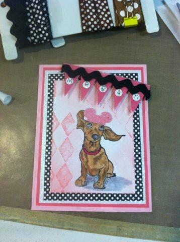 Dog Ears Flying 2 1/4 x 3 1/4-36671