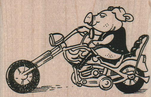 Hog On Hog 3 1/2 x 2 1/4-0