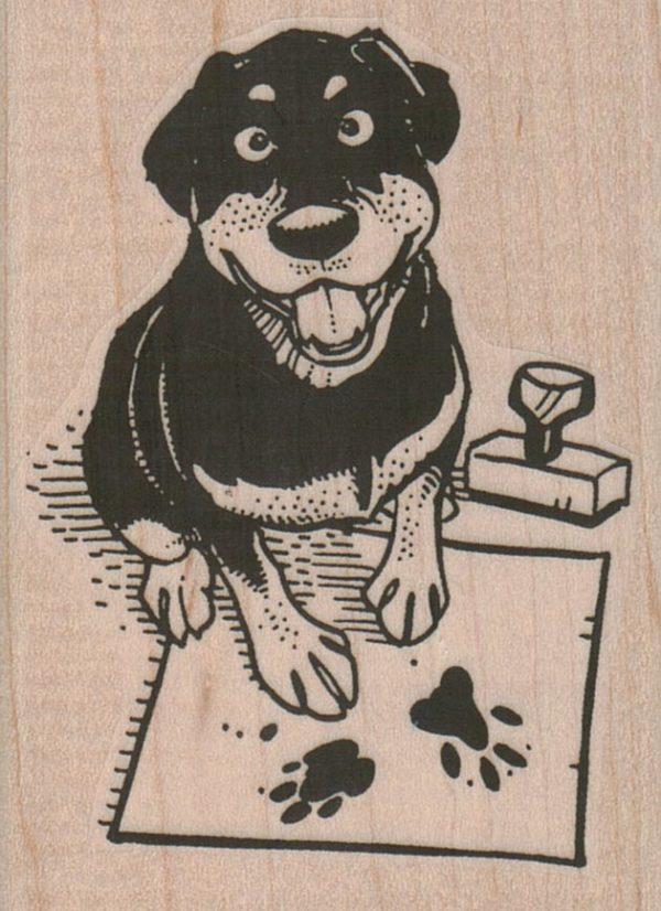 Dog Stamper 2 1/4 x 3-0