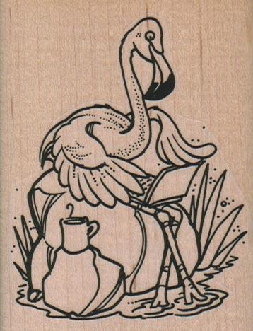 Flamingo LapTop 2 1/2 x 3 1/4-0