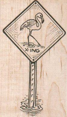 Flamingo Crossing 2 1/2 x 4-0