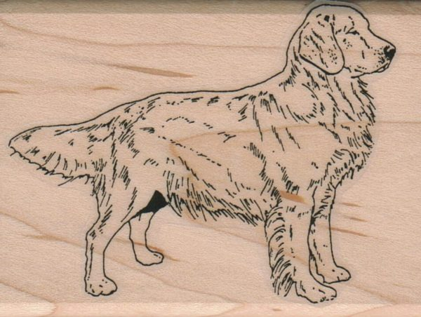Dog Side View 2 1/4 x 3-0