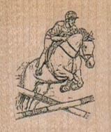 Steeplechase Horse 1 1/4 x 1 1/4-0