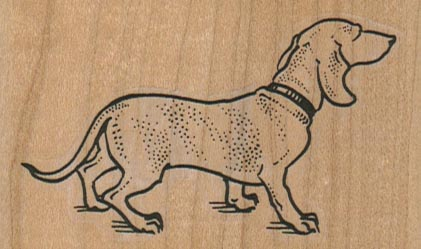 Dog With Collar 3 x 1 3/4-0
