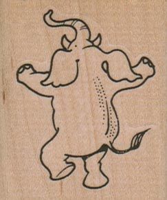 Dancing Elephant 1 3/4 x 2-0