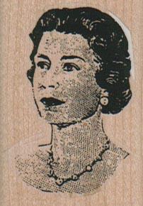 Queen Elizabeth II 1 1/2 x 2-0