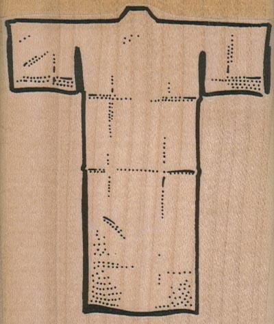 Blank Kimono 2 3/4 x 3 1/4-0