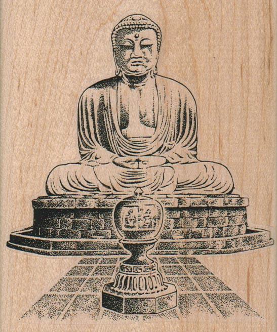 Buddha 3 3/4 x 4 1/4-0
