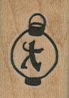 Small Asian Lantern 3/4 x 1-0