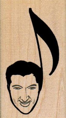 Liberace Musical Note 1 3/4 x 3-0