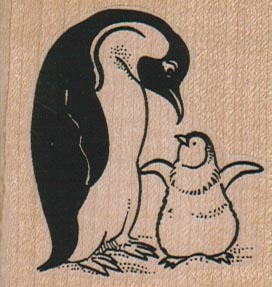 Penguin And Baby 2 x 2-0