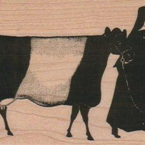 Nun With Cow 2 3/4 x 4-0