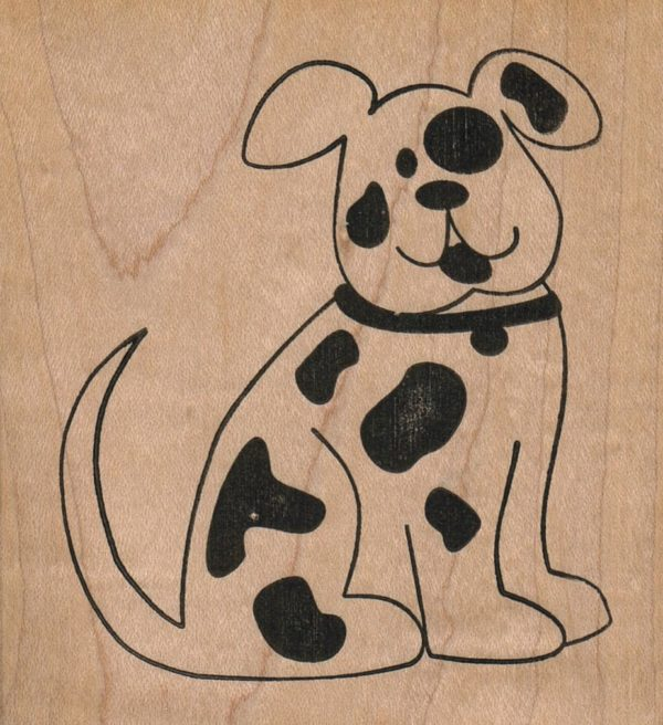 Spotted Dog 3 1/4 x 3 1/2-0