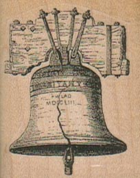 Liberty Bell (Large) 1 1/2 x 1 3/4-0