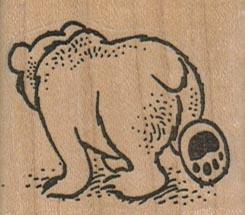 Bear Walking Away 1 3/4 x 1 1/2-0
