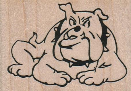 BullDog With Spike Collar 3 1/4 x 2 1/4-0