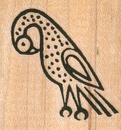 Symbolic Bird 1 1/2 x 1 1/2-0