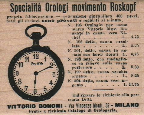 Specialita Orologi 2 3/4 x 3 1/4-0