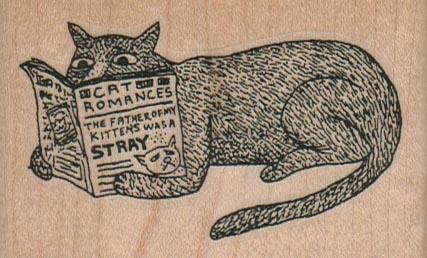Cat Romances 3 x 1 3/4-0
