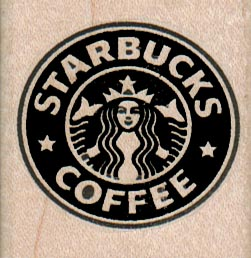 Starbucks Coffee 1 3/4 x 1 3/4-0