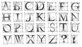 Steampunk Alphabet/Unmounted-0