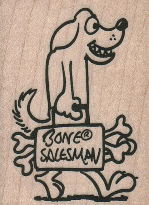 Bone Salesman 1 3/4 x 2 1/4-0