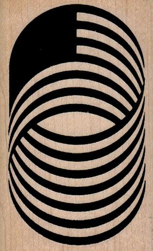 Spiral Illusion 2 1/4 x 3 1/2-0