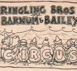 Circus Poster 3 1/2 x 4 3/4-0