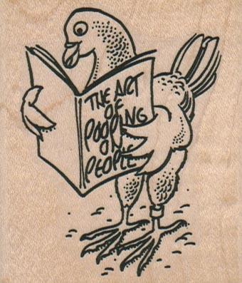 Pigeon Reading Manual 2 1/4 x 2 3/4-0