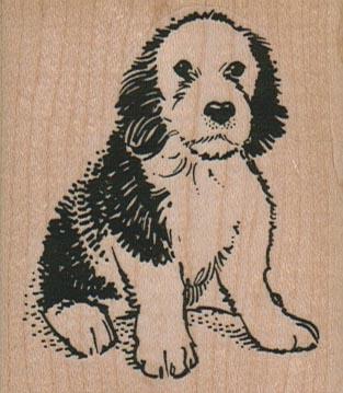Quizzical Dog 2 1/4 x 2 1/2-0