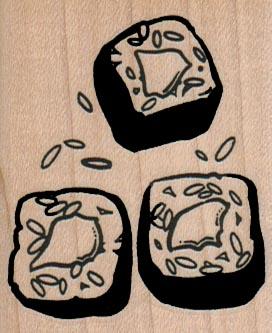 Sushi Trio 2 x 2 1/4-0