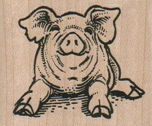 Happy Piggy 2 1/4 x 1 3/4-0
