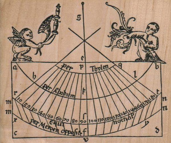 Ancient Chart 4 1/2 x 3 3/4-0