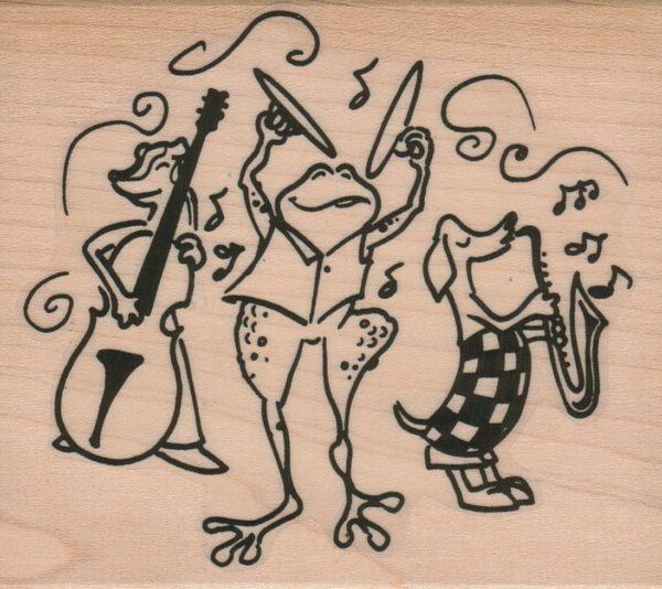 Frog Cymbals/Band 3 1/4 x 3 3/4-0