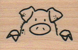 Pig Peering 1 1/4 x 1 3/4-0