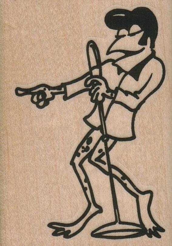 Frog Singer 2 x 2 3/4-0